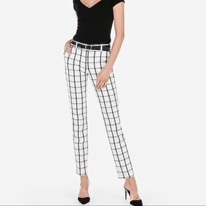 Express | Stretch Columnist Mid-Rise Ankle Pants
